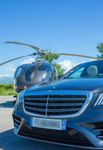 Hourly services with a private chauffeur  