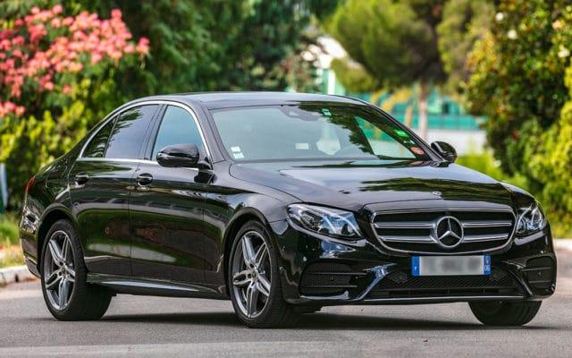 Mercedes E Class chauffeur Nice Cote Azur 2 |