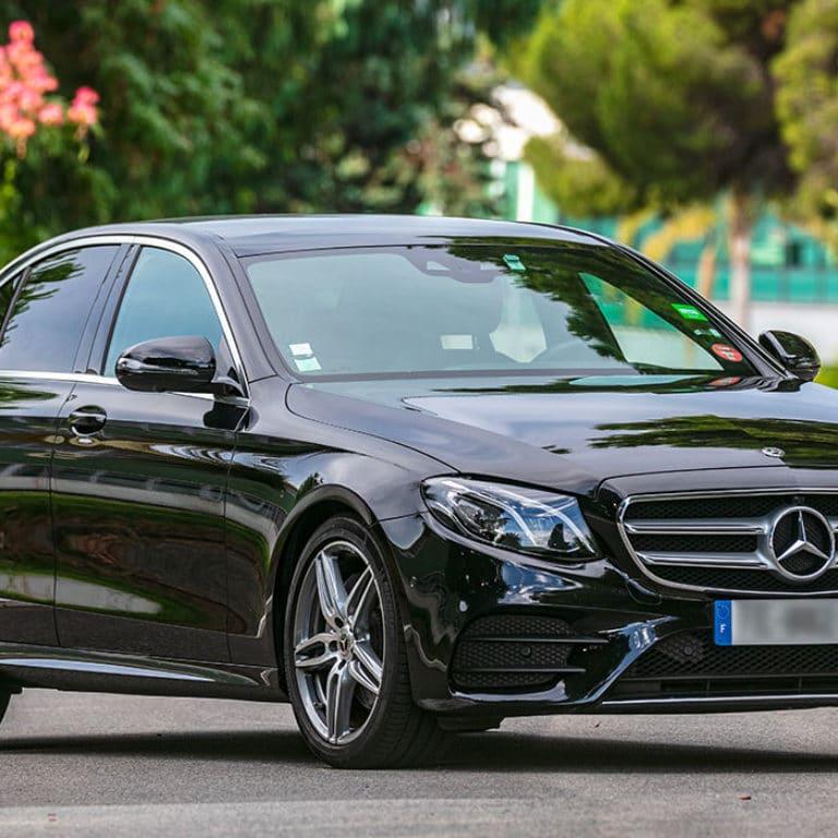 Mercedes E Class | Chauffeur Nice Cote d'Azur