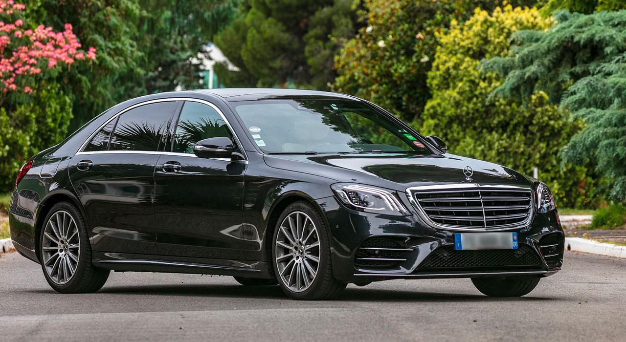 Mercedes S Class chauffeur Nice Cote Azur 1 3 |