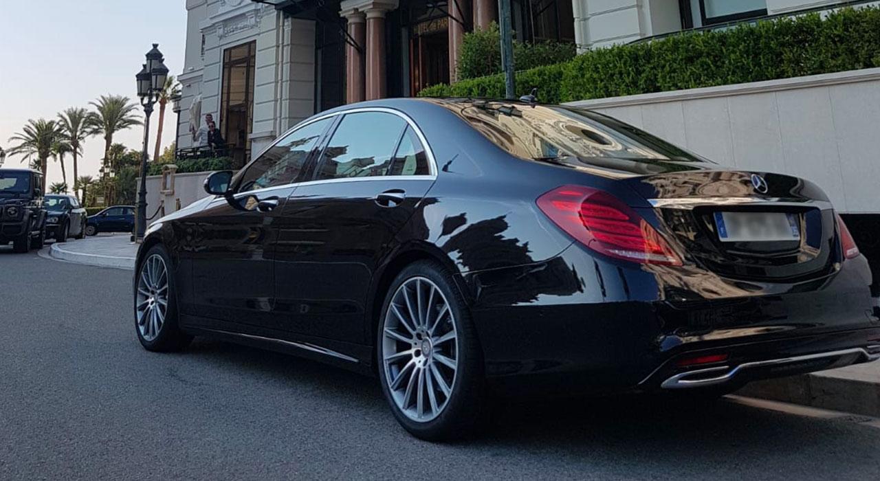 Mercedes S Class chauffeur Nice Cote Azur 4 1 |