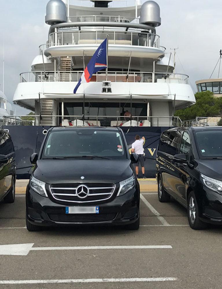 Mercedes V Class   Chauffeur Nice Cote d'Azur