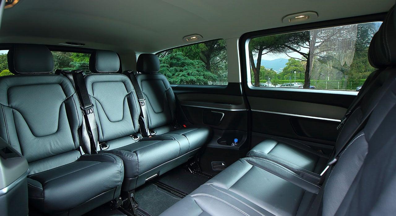 Mercedes V Class chauffeur Nice Cote Azur 6 |