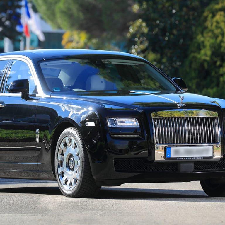 Rolls Royce Ghost chauffeur Nice Cote d'Azur