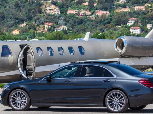private aviation chauffeur Nice 1 |