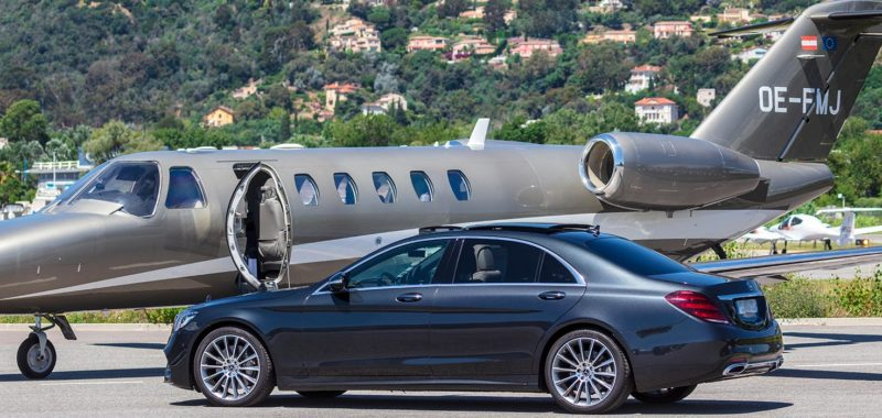 Private Aviation l Limousine service for private jets