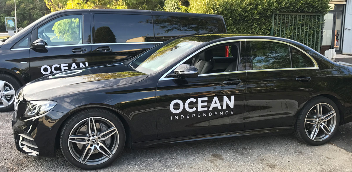 Car branding service French Riviera