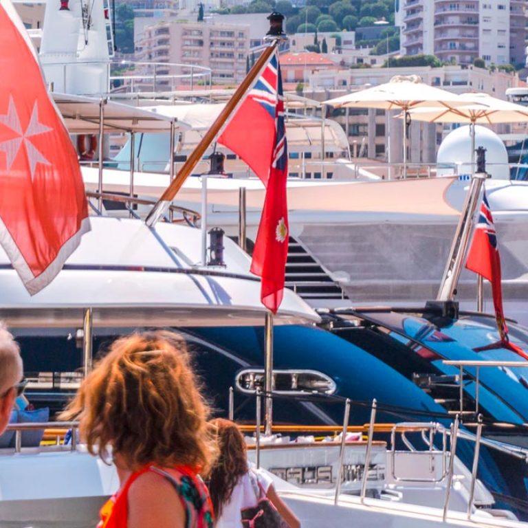 chauffeur monaco yacht show bg |
